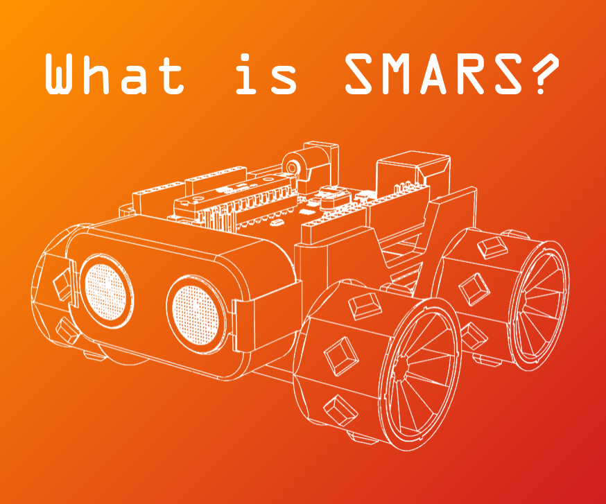 A rendering of a SMARS robot